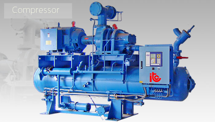 Compressor - Industrial Refrigeration, Freezing and Cold Storage Systems by ITC GROUP