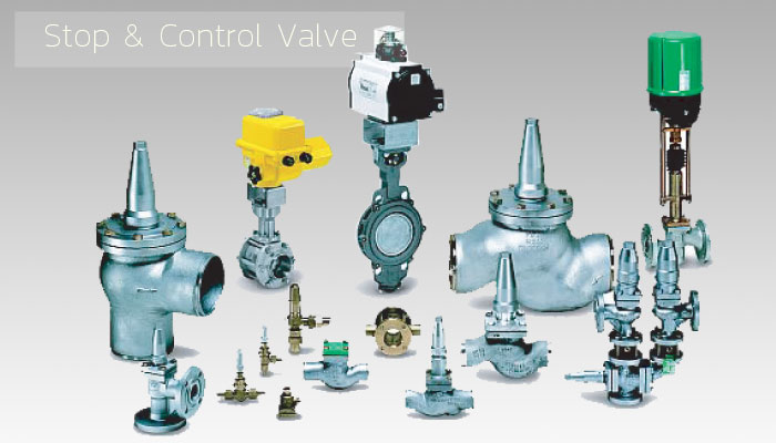 Stop & Control Valve - Industrial Refrigeration, Freezing and Cold Storage Systems by ITC GROUP