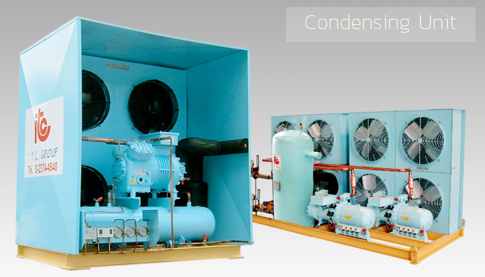 Condensing Unit - Industrial Refrigeration, Freezing and Cold Storage Systems by ITC GROUP
