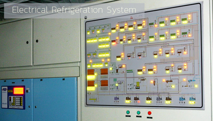 Electrical Refrigeration System - Industrial Refrigeration, Freezing and Cold Storage Systems by ITC GROUP