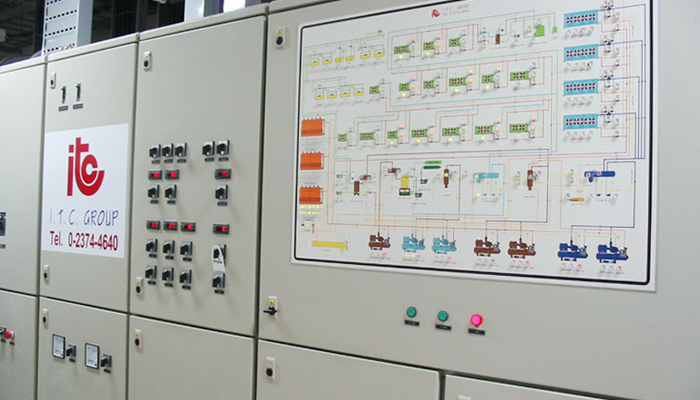 Electrical Power & Control Board - Industrial Refrigeration, Freezing and Cold Storage Systems by ITC GROUP