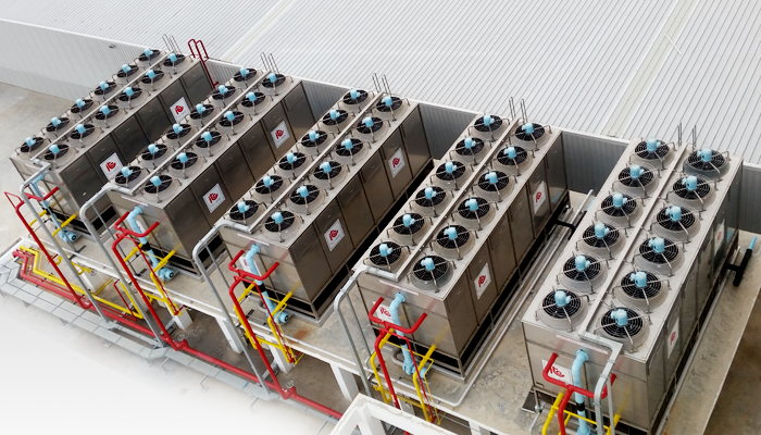 Evaporative Condenser - Industrial Refrigeration, Freezing and Cold Storage Systems by ITC GROUP