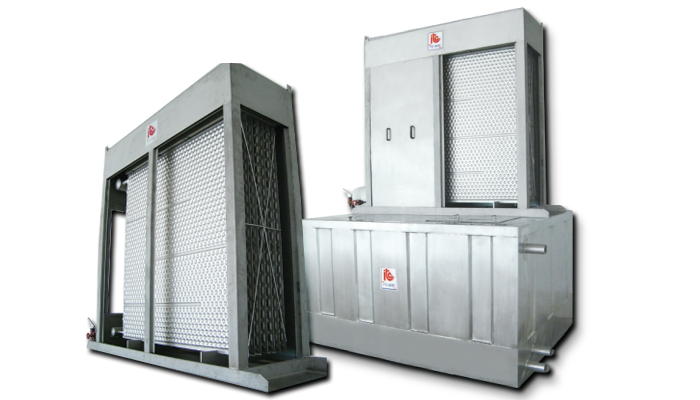 Falling Film Water Chillers - Industrial Refrigeration, Freezing and Cold Storage Systems by ITC GROUP