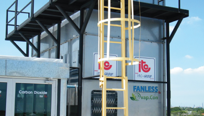 Fanless Evaporative Condenser - Industrial Refrigeration, Freezing and Cold Storage Systems by ITC GROUP