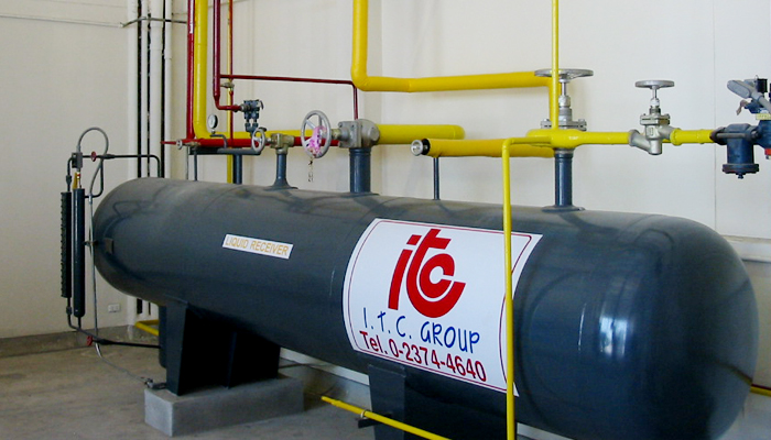 Liquid Receiver - Industrial Refrigeration, Freezing and Cold Storage Systems by ITC GROUP