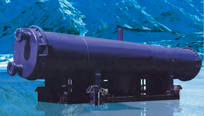 Shell & Tube Condenser - Industrial Refrigeration, Freezing and Cold Storage Systems by ITC GROUP