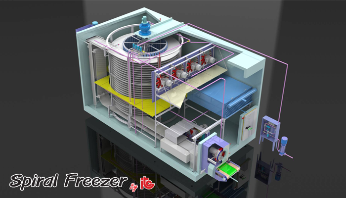 Spiral Freezer - Industrial Refrigeration, Freezing and Cold Storage Systems by ITC GROUP