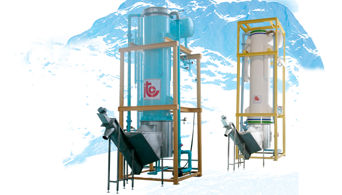 Tube Ice Maker - Industrial Refrigeration, Freezing and Cold Storage Systems by ITC GROUP