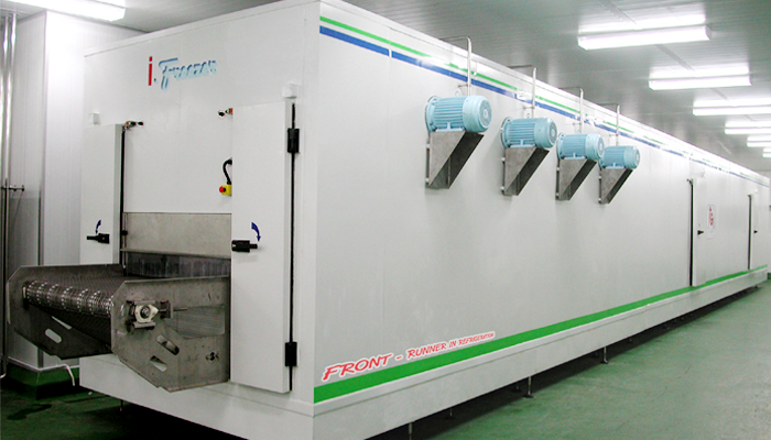 Tunnel Freezer - Industrial Refrigeration, Freezing and Cold Storage Systems by ITC GROUP