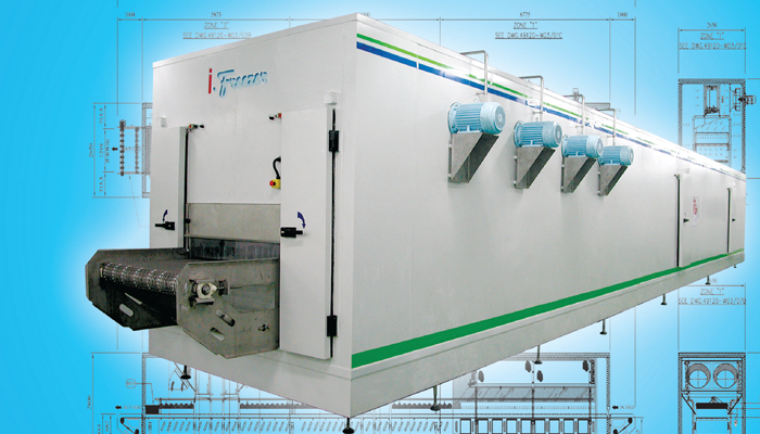 Tunnel Freezer Industrial Refrigeration, Freezing and Cold Storage Systems by ITC GROUP